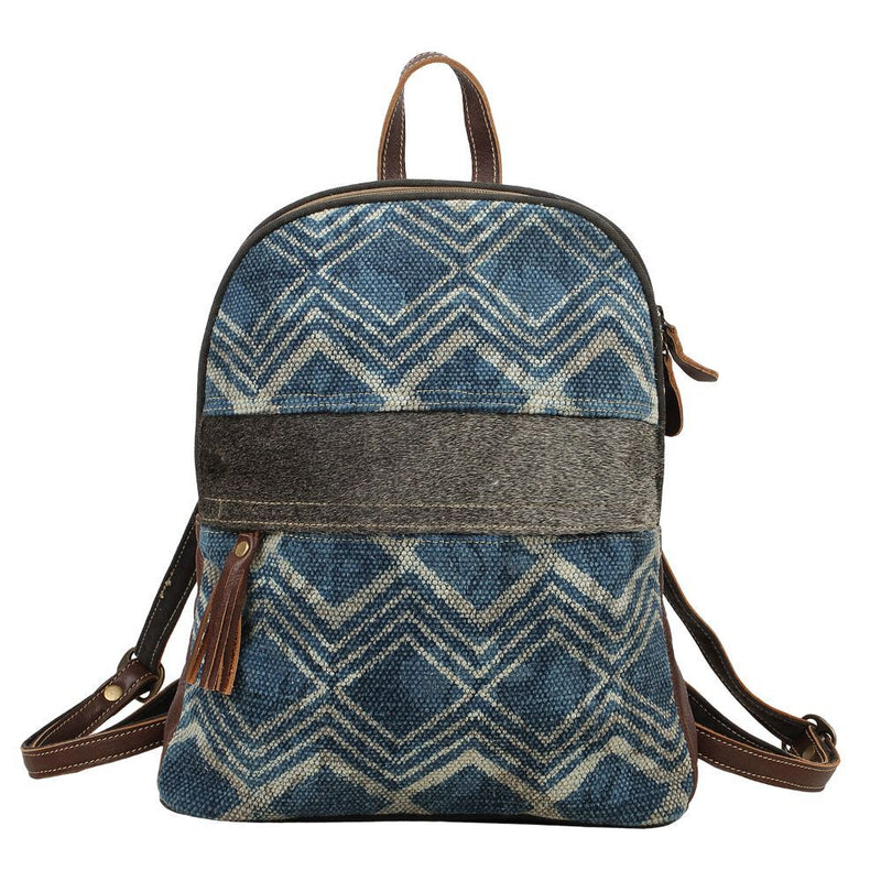 Myra Bag® Blue Breeze Backpack Bag