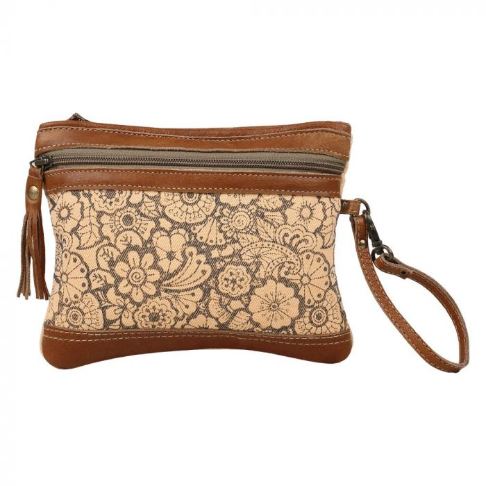 Myra® ORANGE SPARSH POUCH