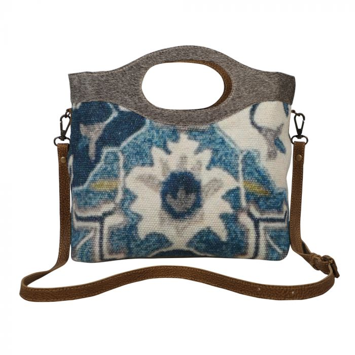 Myra® BLUE WEALTH TOTE BAG