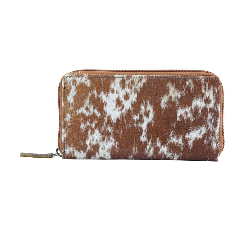 Myra® Milky Way Leather and Hairon Wallet