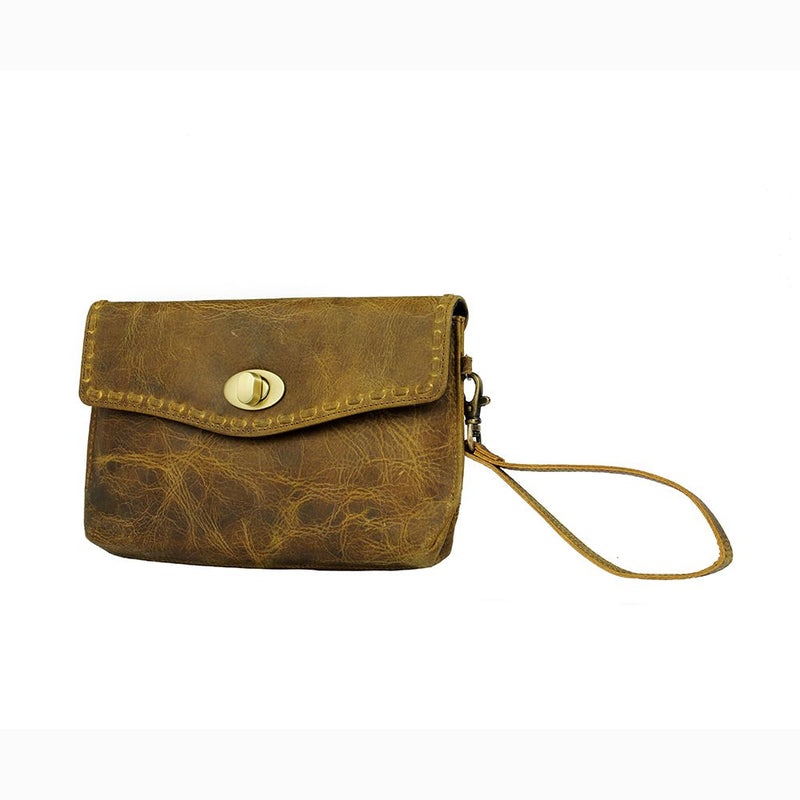 Myra Bag® Simplistic Brown Wallet