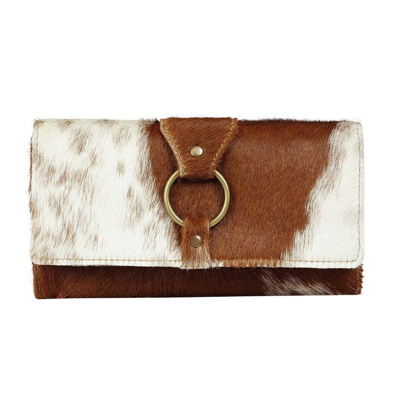 Myra Bag® Hairon & Leather Wallet