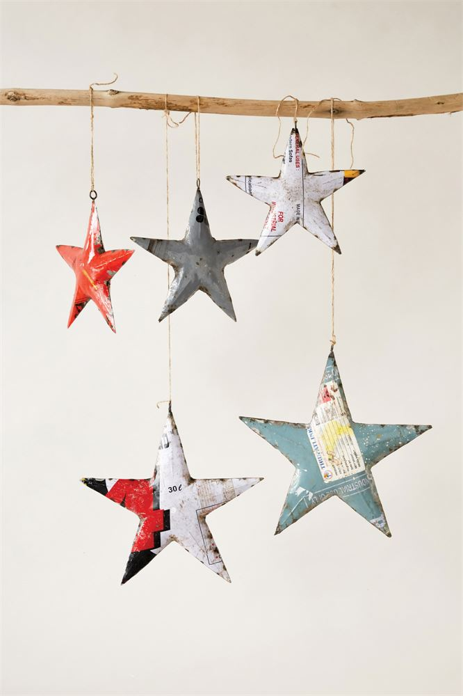 Recycled Metal Star