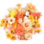 Random Mix Artificial Flower Heads