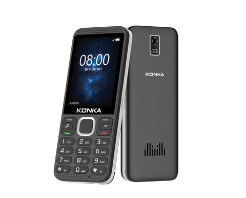 Konka U7 Bar Phone - 3G, WiFi, Bluetooth, GPS, FM Radio