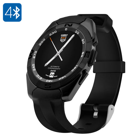 NO.1 G5 Smart Watch - Heart Rate Monitor, Bluetooth 4.0, Sync With Smartphone, Pedometer, Sleep Monitor