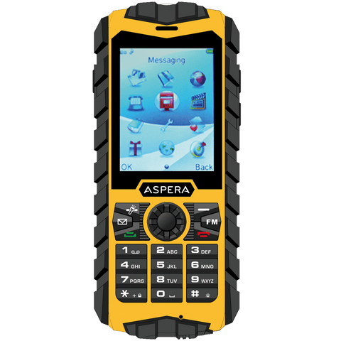Aspera R25 Rugged 3G Phone