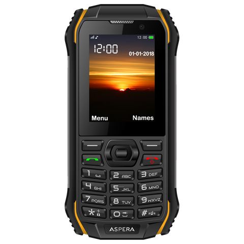 Aspera R32  Rugged 3G Phone