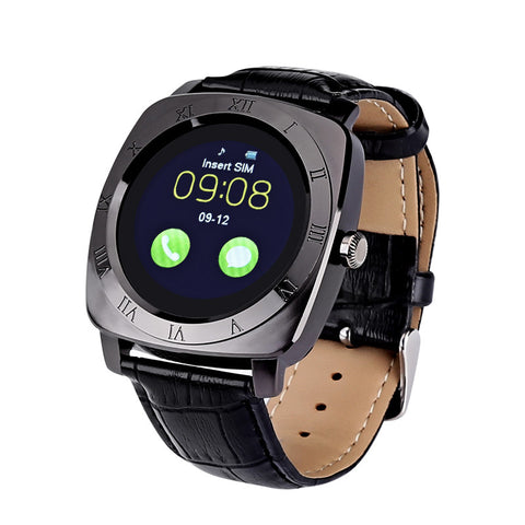 Iradish X3 Smartwatch - 1.33 Inch IPS Display, Integrated Camera, 240x240 Resolution, 32GB External Memory, Pedometer