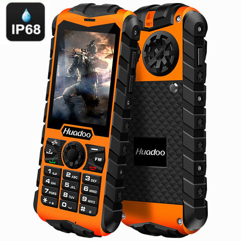 H3 Rugged 3G Phone - IP68 Waterproof, Dustproof, Shockproof FM Flashlight