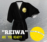 "New Era ""REIWA"" Black and Gold Happi Robe"