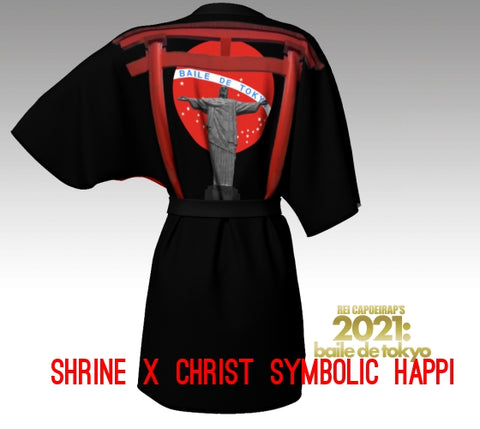 "Baile de Tokyo 202X ""Shrine x Christ"" Symbolic Happi - Black & Red -"