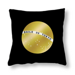 Baile de Tokyo サテン生地クッション枕カバー Pillow Cover Cushion Cases for Home Bedroom Living Room