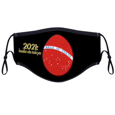 Baile de Tokyo 2021 Original Face Cover for Women and Men