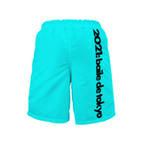 Baile de Tokyo Customizable Men's Beach Pants Shorts (Single-Chip Design)