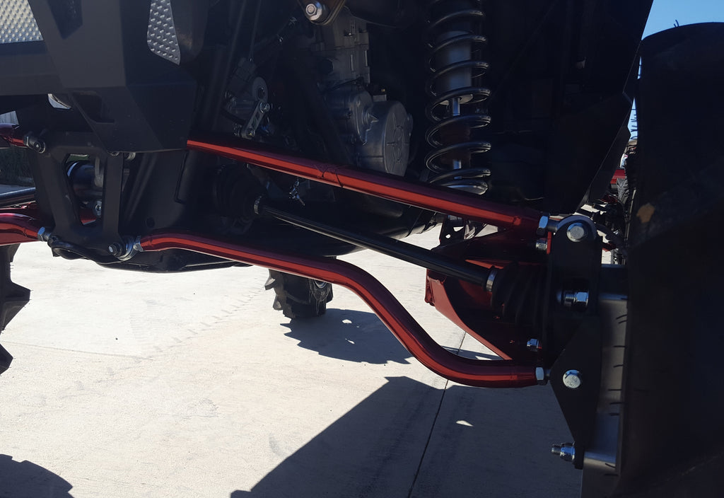 RZR 1000 XP Upper & Lower Arched Radius Bars Combo