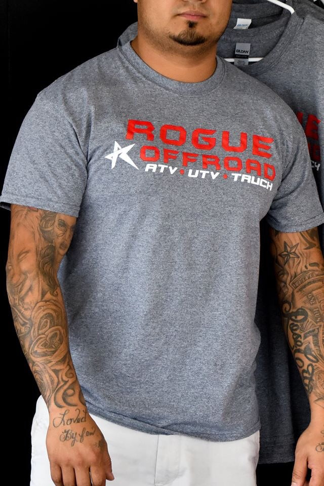 Grey Short Sleeve Rogue Shirt