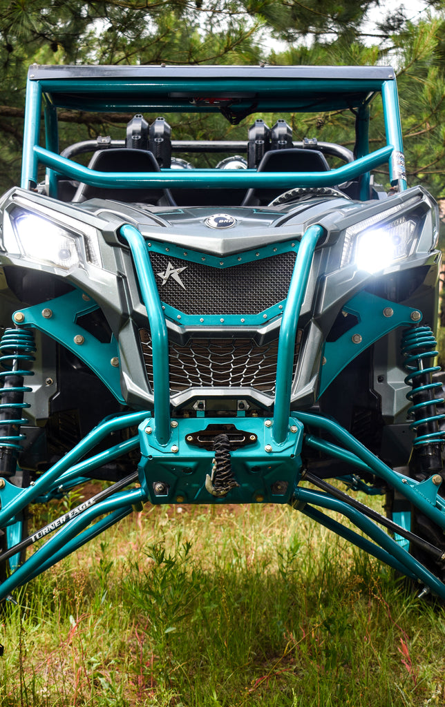 Can Am Maverick Trail Mesh Grill