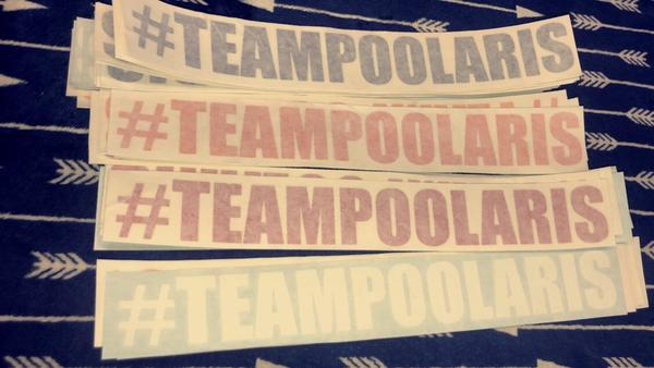 #TeamPoolaris Decal