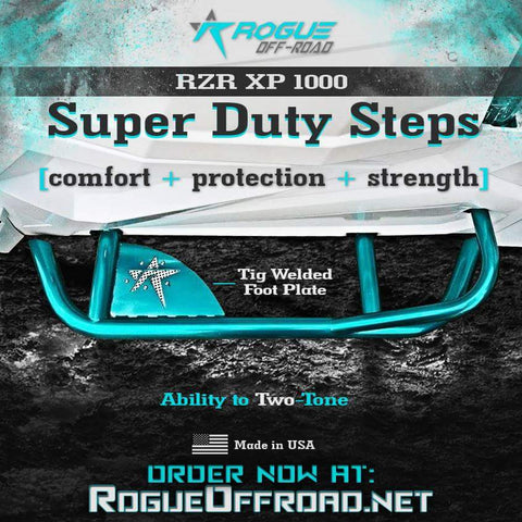 RZR 1000 XP/ 900S Super Duty Steps
