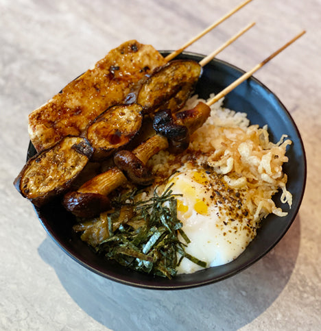 Vegetable Yakitori Bowl