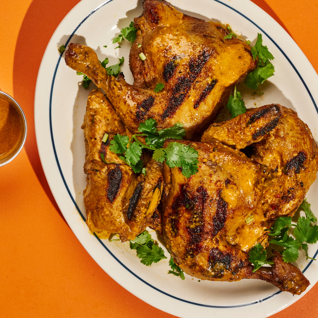 Whole Piri-Piri Chicken with Spice Rice
