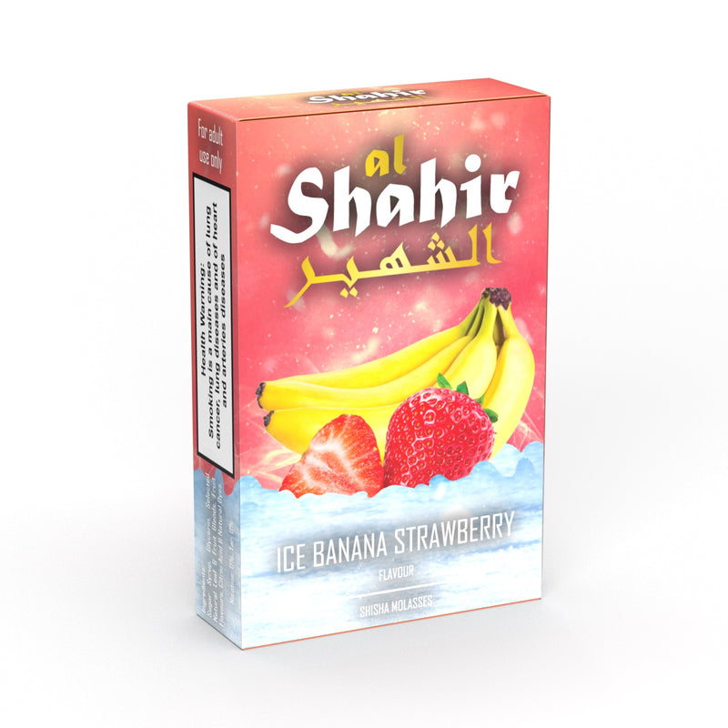 Al Shahir Ice Banana Strawberry Shisha Molasses - 50g