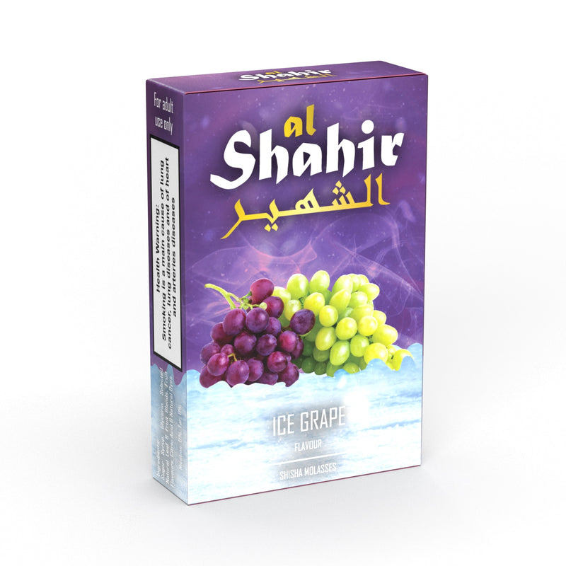 Al Shahir Ice Grape Shisha Molasses - 50g
