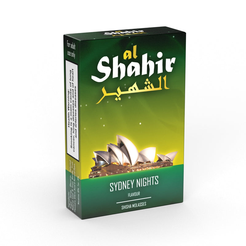 Al Shahir Sydney Nights Shisha Molasses - 50g