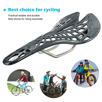 Comfortable Bicycle Saddle - The Inbuilt Saddle Suspension