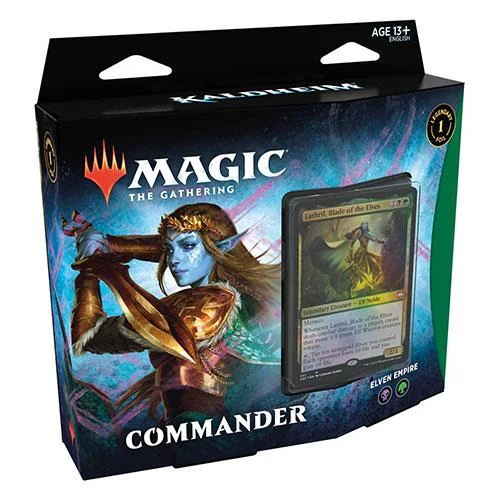 MTG Magic The Gathering Kaldheim Commander Deck - Elven Empire