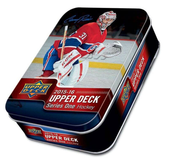 2015-16 Upper Deck Series 1 Hockey Tin - Collector's Avenue
