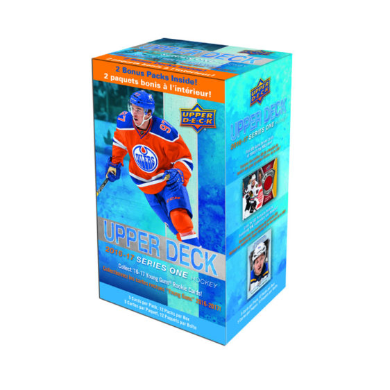 2016-17 Upper Deck Series 1 Hockey 12ct Blaster Box - Collector's Avenue