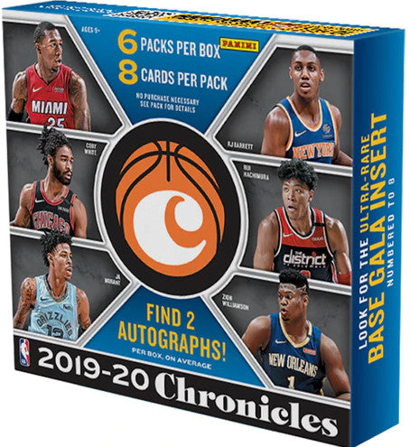 2019-20 Panini Chronicles Basketball Hobby Box - Collector's Avenue