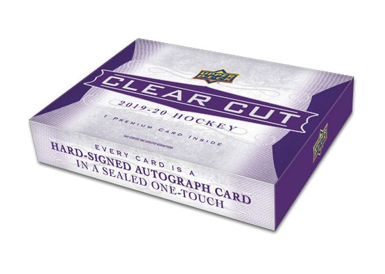2019-20 Upper Deck Clear Cut Hockey Hobby Box - Collector's Avenue