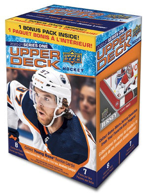 2020-21 Upper Deck Series 1 Hockey Blaster Box - Collector's Avenue