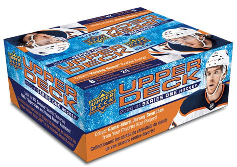 2020-21 Upper Deck Series 1 Hockey Retail Case (20 Boxes) - Collector's Avenue