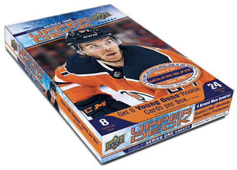 2020-21 Upper Deck Series 1 Hockey Hobby Box - Collector's Avenue