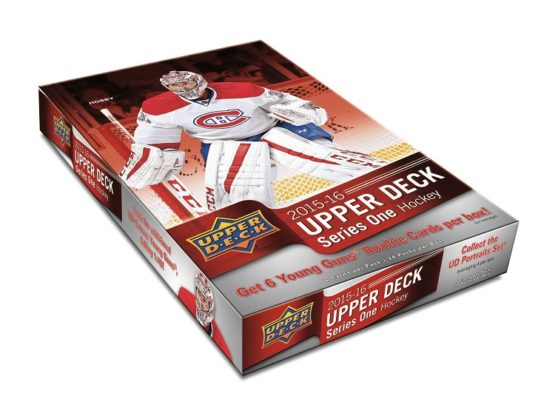 2015-16 Upper Deck Series 1 Hockey Hobby Box - Collector's Avenue