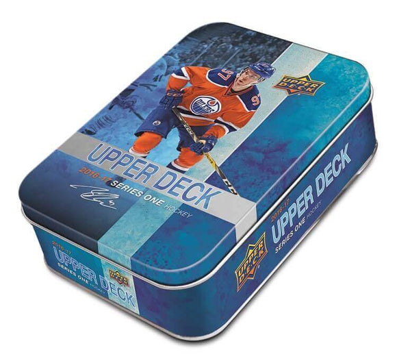 2016-17 Upper Deck Series 1 Hockey Tin Box - Collector's Avenue