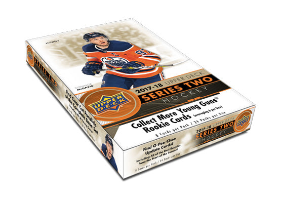 2017-18 Upper Deck Series 2 Hockey Hobby Box - Collector's Avenue