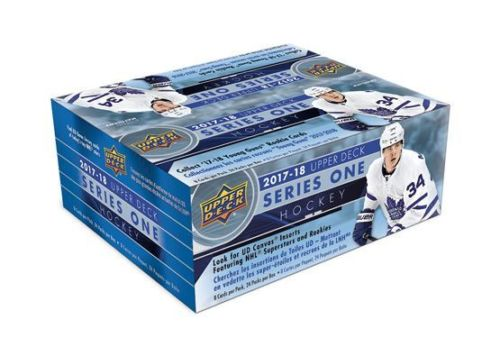2017-18 Upper Deck Series 1 Hockey Retail Box - Collector's Avenue