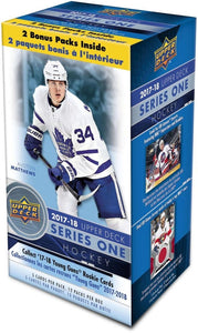 2017-18 Upper Deck Series 1 Hockey Blaster Box - Collector's Avenue