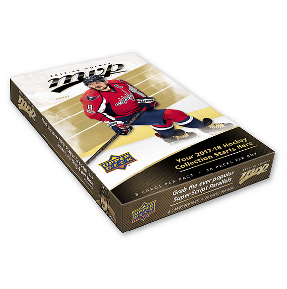 2017-18 Upper Deck MVP Hockey Hobby Box - Collector's Avenue