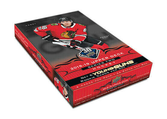 2018-19 Upper Deck Series 2 Hockey Hobby Box - Collector's Avenue