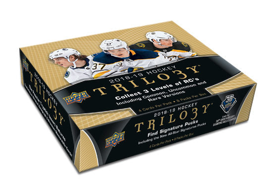 2018-19 Upper Deck Trilogy Hockey Hobby Box - Collector's Avenue