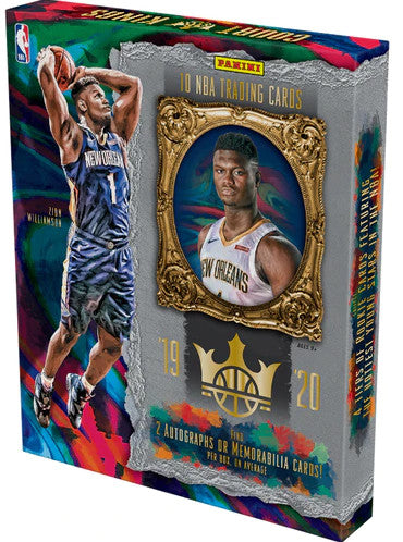 2019-20 Panini Court Kings Basketball Hobby Box - Collector's Avenue