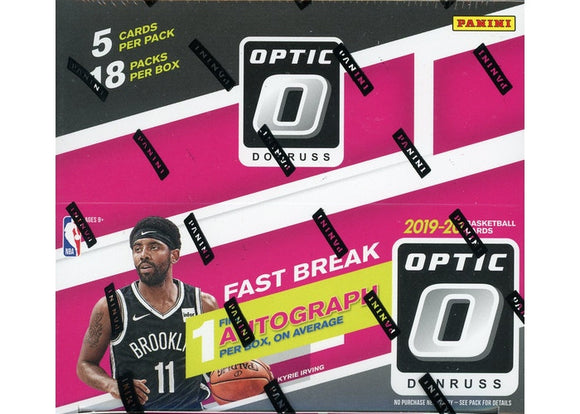 2019-20 Panini Donruss Optic Basketball Fast Break Box - Collector's Avenue