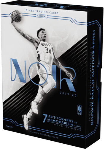 2019-20 Panini Noir Basketball Hobby Box - Collector's Avenue