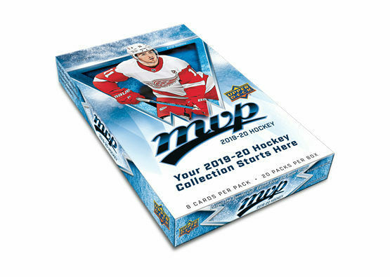 2019-20 Upper Deck MVP Hockey Hobby Box - Collector's Avenue